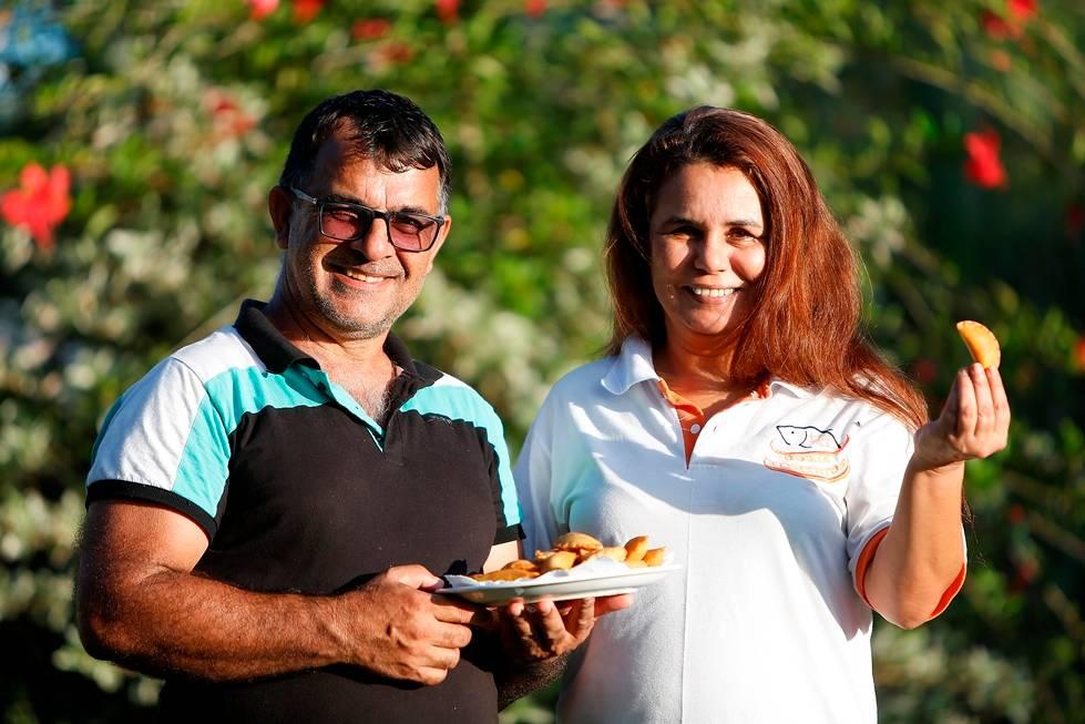 Lázaro e Mara têm conseguido no rissole de tilápia agregar maior valor na produção do pescado