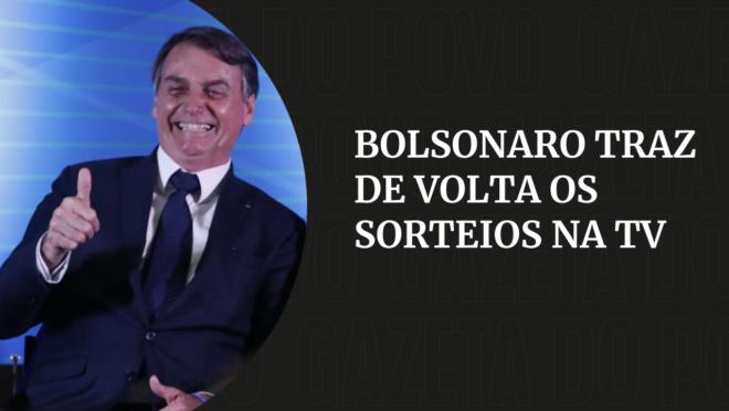 Sorteio TV Bolsonaro