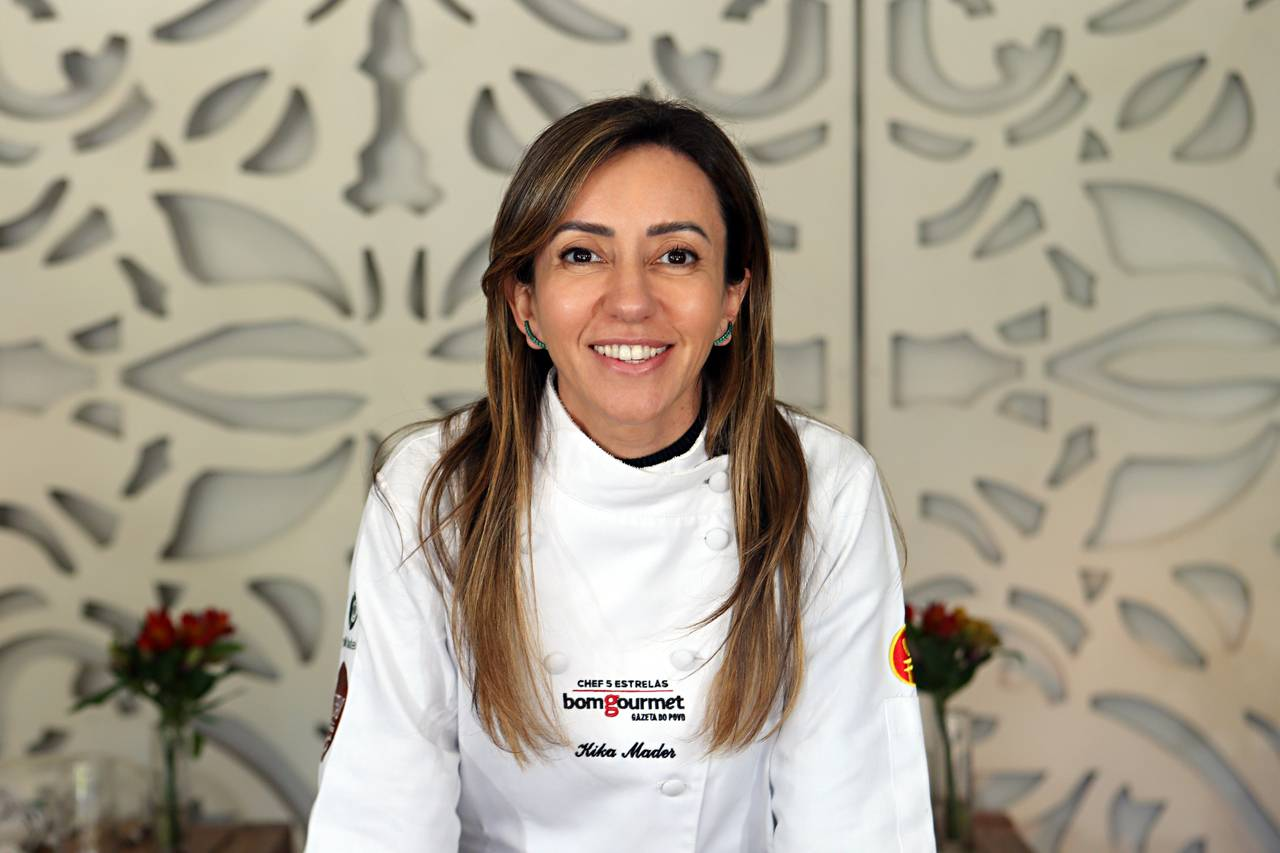 Kika Marder foi eleita Chef 5 Estrelas nove vezes