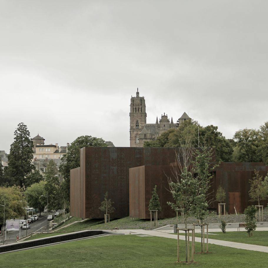 Museu Soulages em Rodez, França.