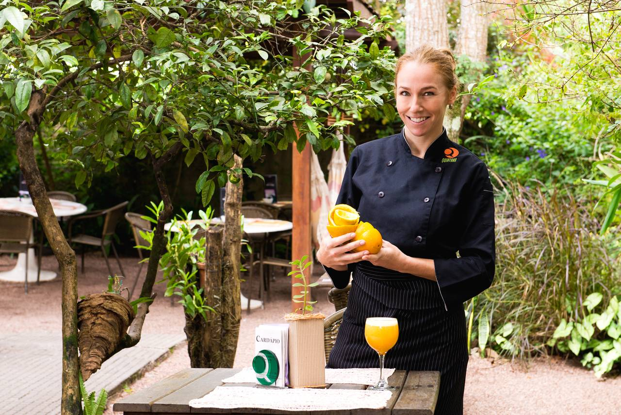 Gabriela Carvalho, chef do Quintana, foi Chef 5 Estrelas em 2016