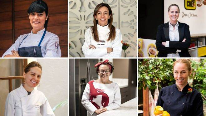 chefs mulheres bom gourmet