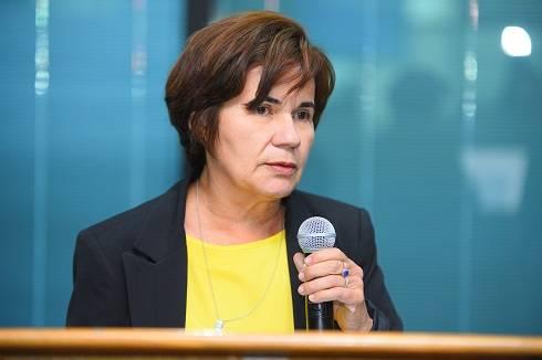 Giucélia Figueiredo, diretora nacional da Mútua.