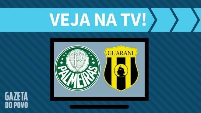 Palmeiras x Guaraní-PAR: como assistir na TV