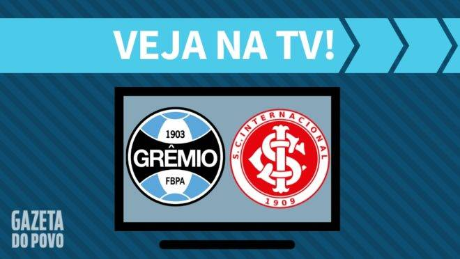 Grêmio x Inter: onde assistir na tv
