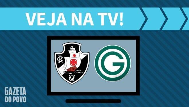 Vasco x Goiás: como assistir na tv