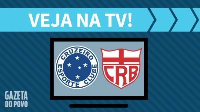 Cruzeiro x CRB: saiba como ver na TV