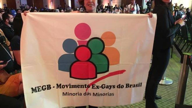 Miriam Fróes, líder do Movimento dos Ex-gays do Brasil, diz que a espiritualidade pode conter impulsos homossexuais.