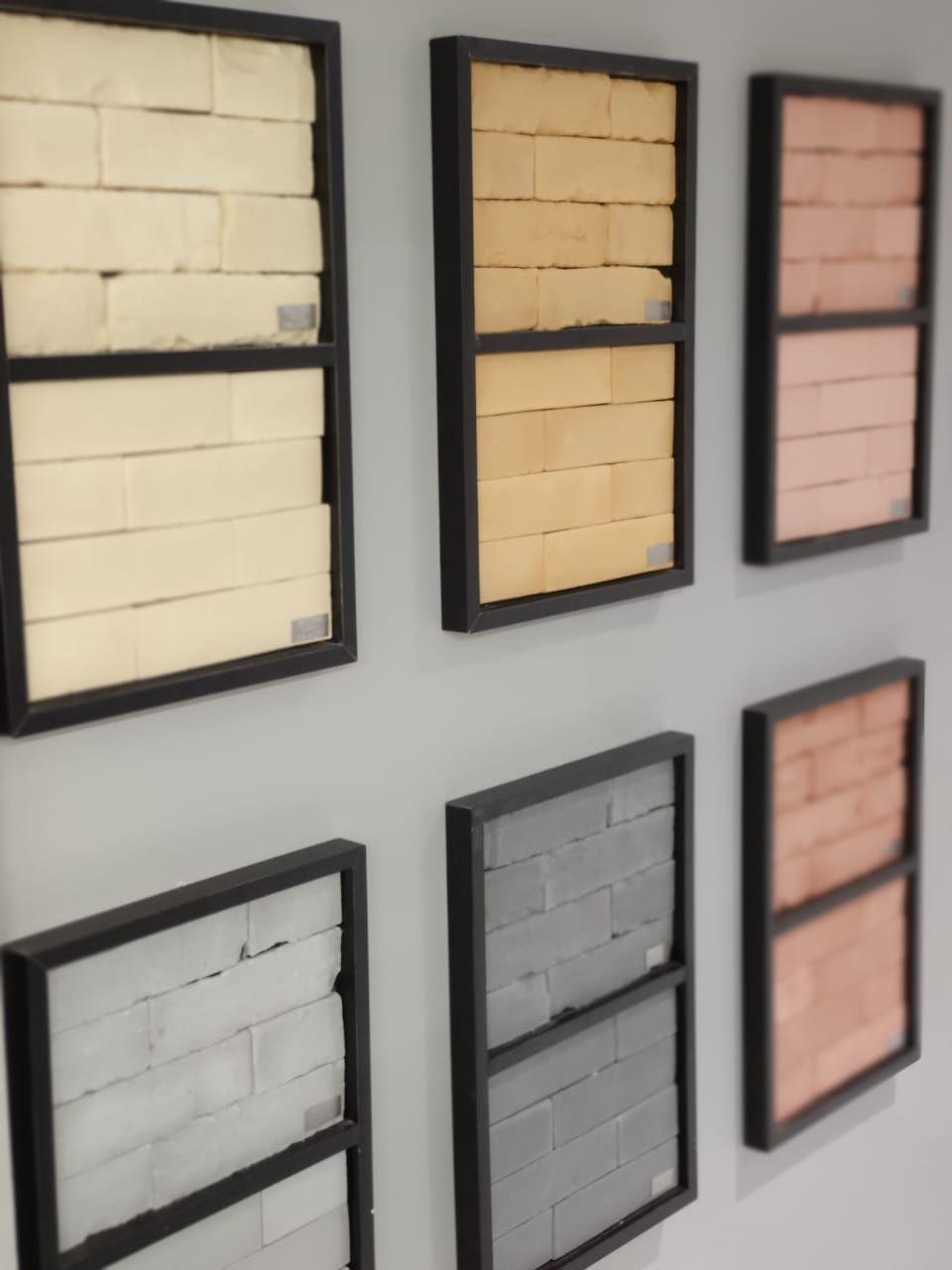 A Palazzo Revestimentos traz tijolos cimenticios em sete opções de cores com texturas lisas e rústicas. Fotos: Luan Galani / HAUS.