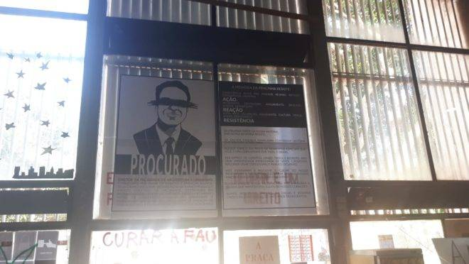 O professor Marcos Magalhães, diretor da Faculdade de Arquitetura e Urbanismo (FAU), está sendo ameaçado por denunciar ponto de tráfico de drogas na UnB.