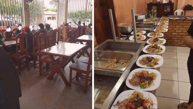 Restaurante oferece refeições de graça para moradores de rua 2.