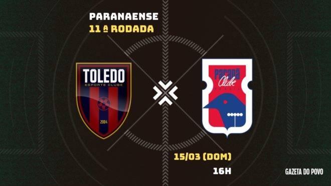 Toledo x Paraná: tudo sobre o jogo