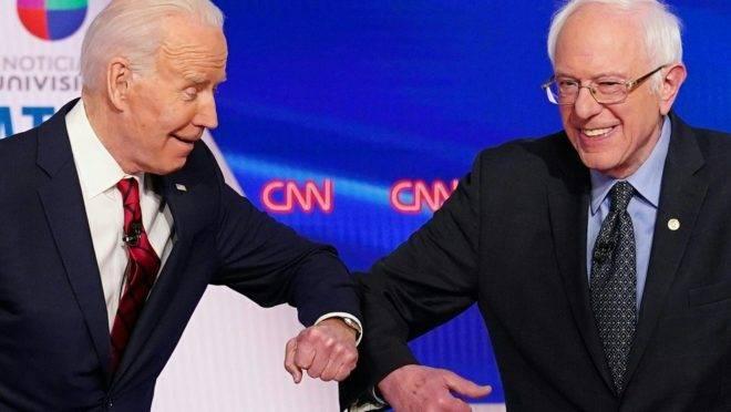 debate democrata biden sanders