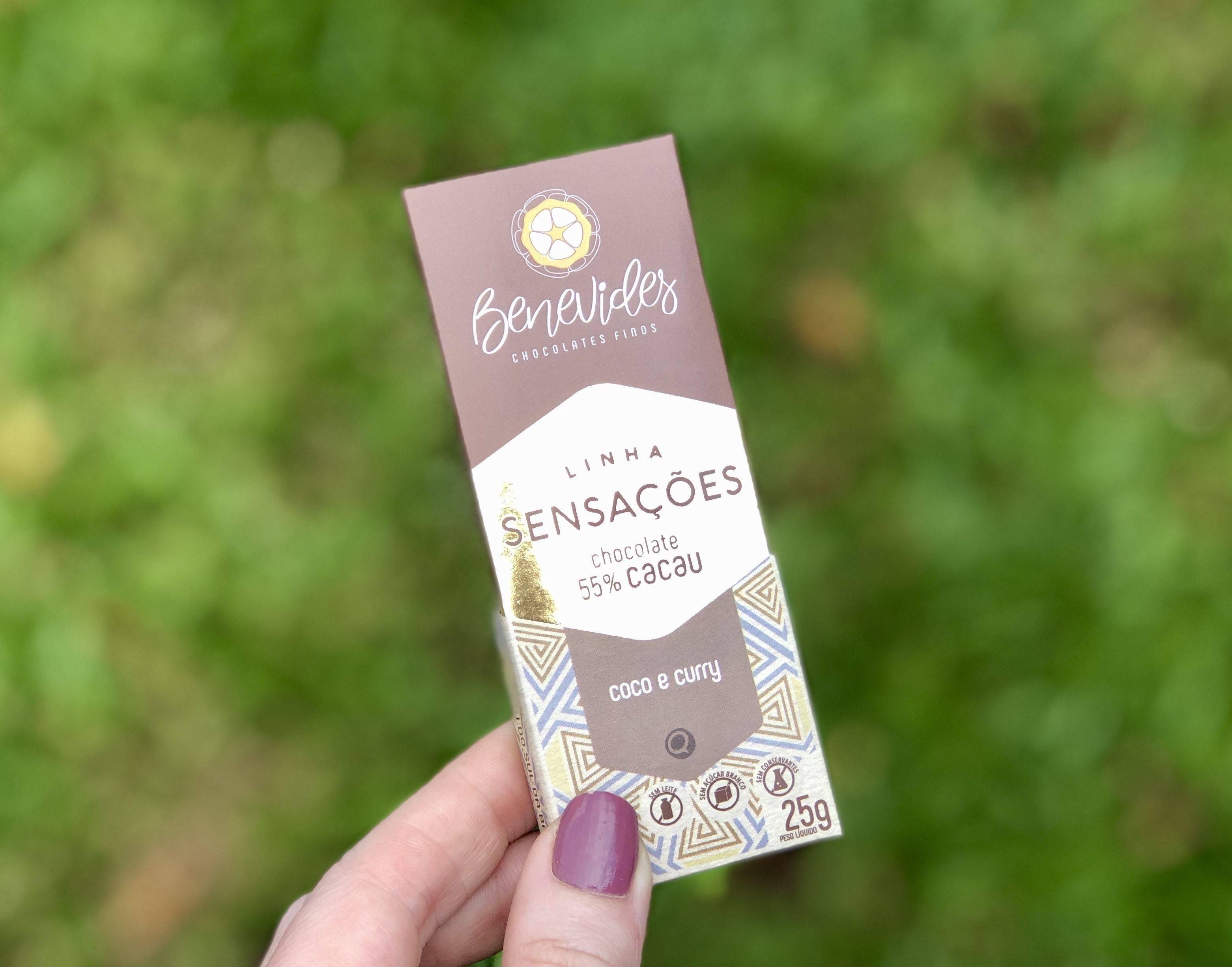 Benevides Chocolate Finos criou uma harmonização exótica utilizando fruta e especiarias. Foto: Divulgação. fffrut