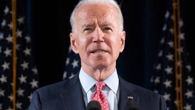 O ex-vice-presidente dos EUA, Joe Biden.