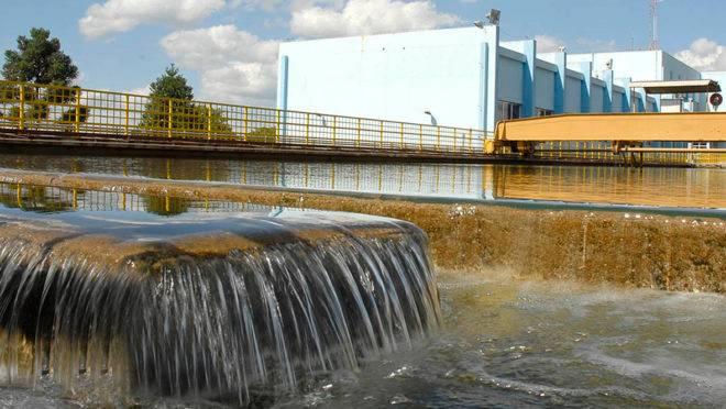 Estação de Tratamento de Água Iguaçu, em Curitiba