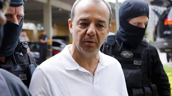 Sergio Cabral foi preso pela Lava Jato