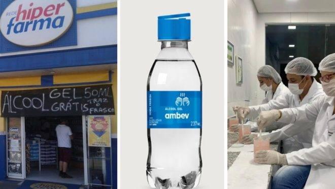 Uma farmácia de Curitiba, uma unidade de ensino superior na Bahia e uma companhia de bebidas do Rio de Janeiro estão entre essas instituições