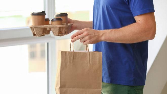 Embalagem de delivery