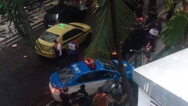 Policiais atendem ocorrência que terminou com a morte de policial militar no RJ.