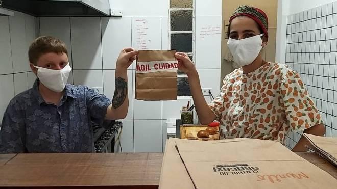 Restaurante Central do Abacaxi recorreu ao delivery.