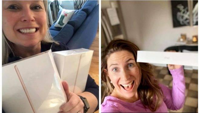 Amigas compram iPads para casas de repouso nos Estados Unidos