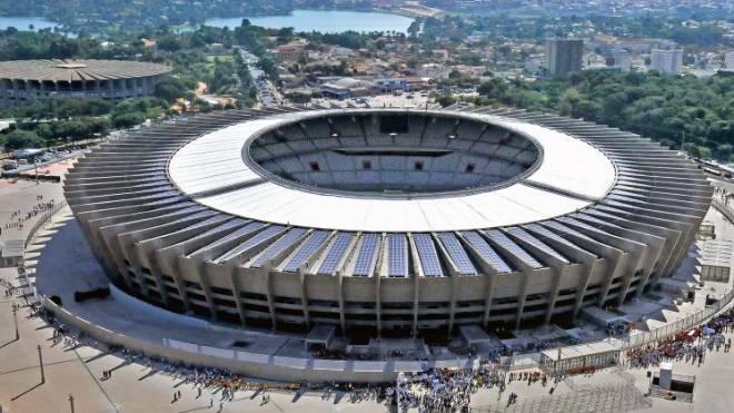 Cruzeiro é time brasileiro que mais deve à União. Na imagem, o estádio Mineirão
