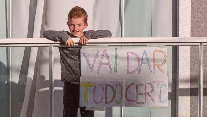A ação começou com um garoto de 6 anos e inspirou todos os moradores de um condomínio no Paraná