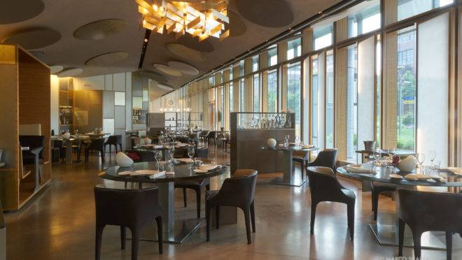 O Berton, restaurante de Milão premiado com uma estrela Michelin está fechado.