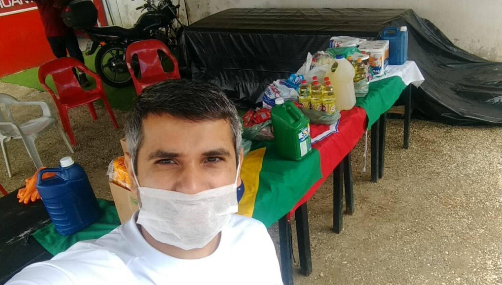 Leandro Andrade, 31 anos, é coordenador da Cufa na capital paranaense.