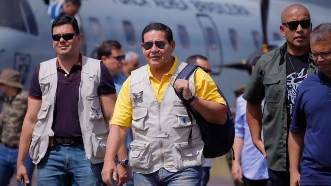 Vice-Presidente da República, Hamilton Mourão, disse que Bolsonaro pode ter sido mal interpretado.