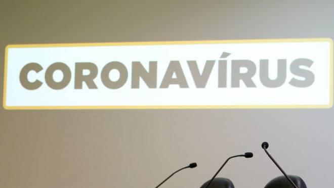 O secretário de Vigilância em Saúde, Wanderson Kleber de Oliveira, durante divulgação de dados atualizados sobre a situação do novo coronavírus no país