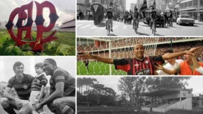 96 anos de Athletico revividos em centenas de fotos históricas