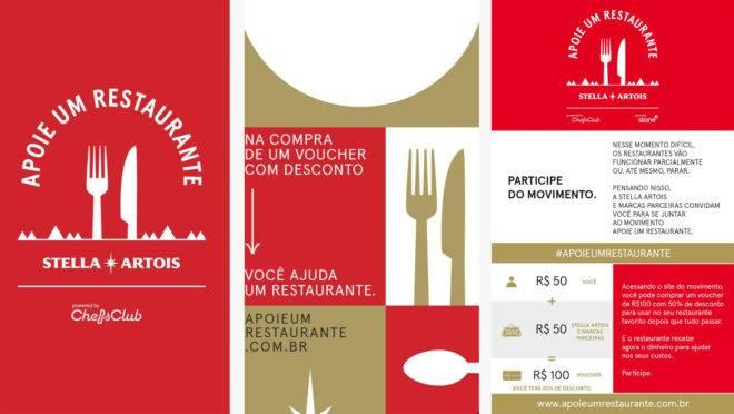"""""""Apoie um restaurante"""" vai ajudar mais de mil estabelecimentos afetados pela paralisação provocada pela COVID-19"""