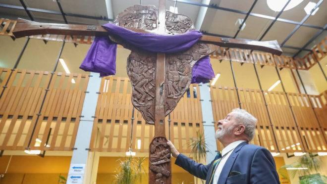 Lula em visita à sede do Conselho Mundial de Igrejas, em Genebra (Suíça): ex-presidente petista passou 11 dias na Europa.