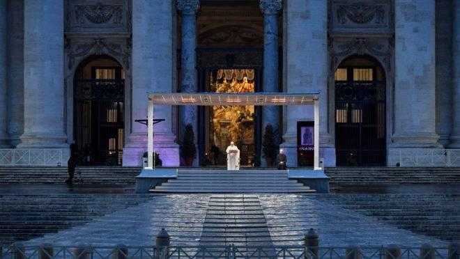 papa francisco oração pandemia coronavírus