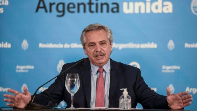 quarentena coronavírus argentina fernández