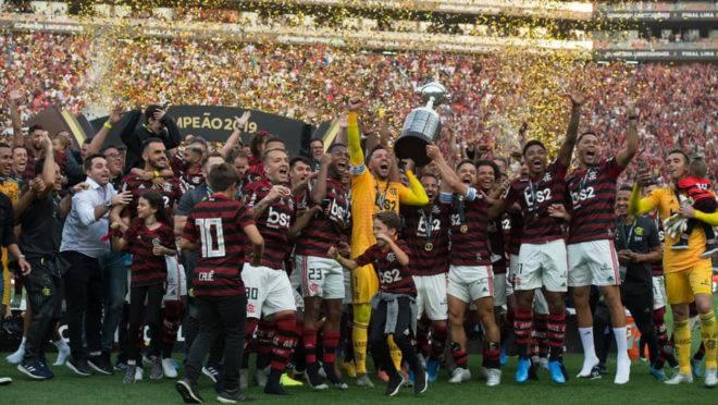 Atual campeão da Libertadores e do Brasileirão, Flamengo é um dos times que mais gasta com salários no Brasil