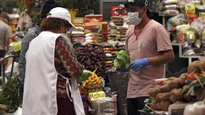 Mercado em Quito, Equador, 21 de março de 2020. O pequeno país é um dos mais afetados pelo novo coronavírus na América do Sul