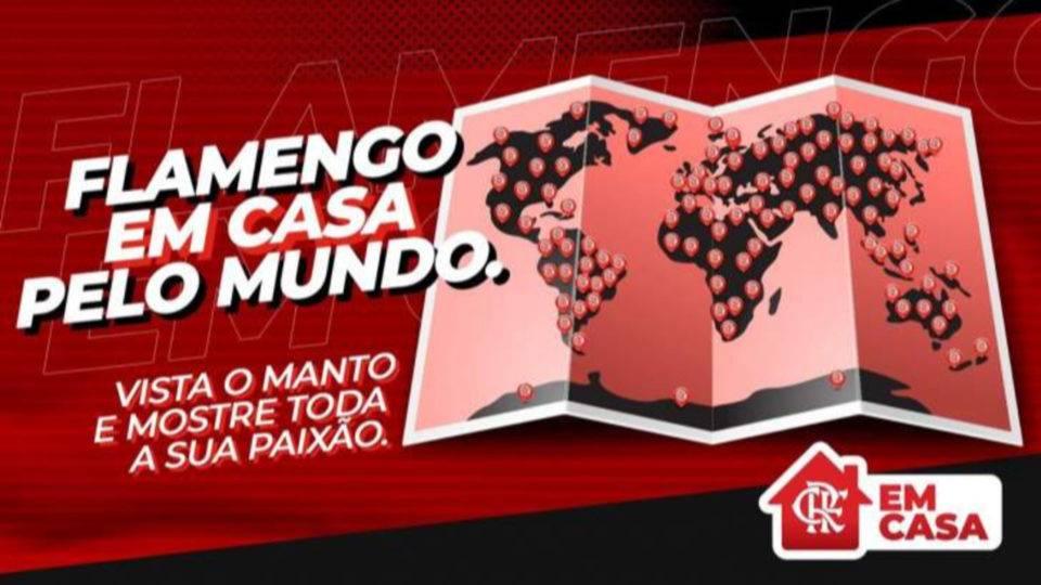 Clubes e atletas brasileiros fazem campanha pró-quarentena nas redes sociais