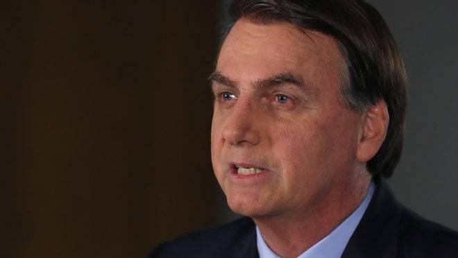 Presidente da República, Jair Bolsonaro, em pronunciamento realizado nesta terça-feira (31).