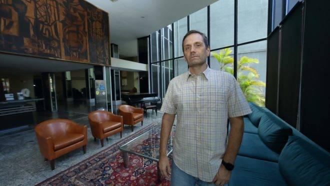 """Paulo Iglesias, do CCVB, em seu hotel vazio: """"A hotelaria precisará de mais""""."""