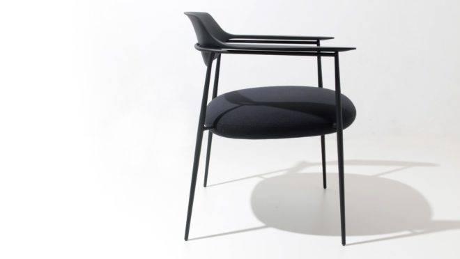 Cadeira Ella, por Jader Almeida, para Sollos | Foto: divulgação
