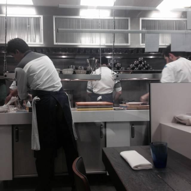 Dentro da cozinha sempre