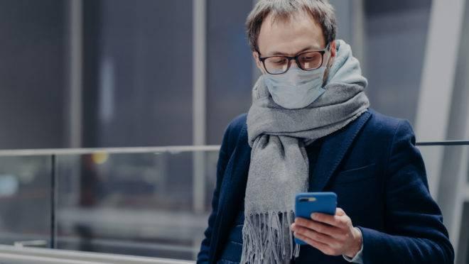 No app Be On, usuários podem relatar casos suspeitos, confirmados curados ou óbitos, assim como podem consultar a quantidade de casos na sua região.