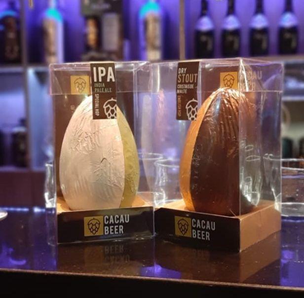Ovos de chocolate da BeerMad
