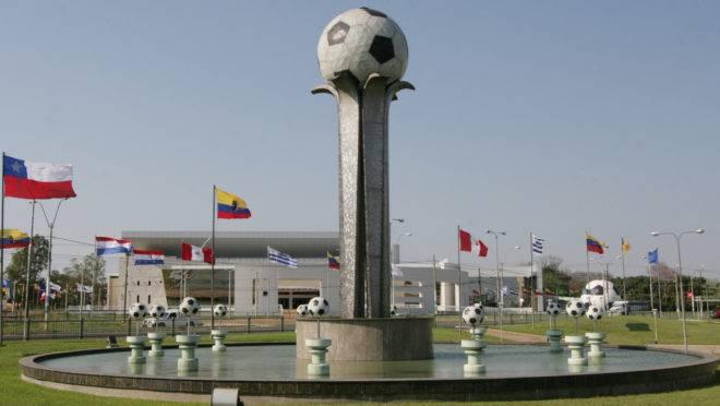 Sede da Confederação Sul-Americana de Futebol mais conhecida pelo por CONMEBOL.