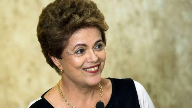 Ex-presidente Dilma Rousseff gerou gastos de R$ 1,6 milhão, em média, desde que deixou o Palácio do Planalto, em 2016.