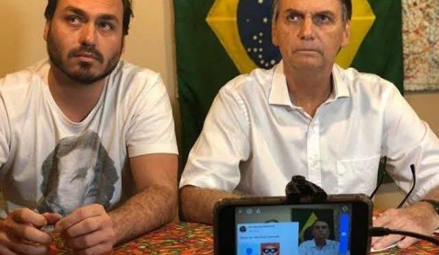Carlos Bolsonaro critica Mourão por reunião com governador do Maranhão