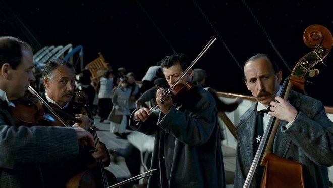 Não sei você, mas eu sou um dos músicos no naufrágio do Titanic.